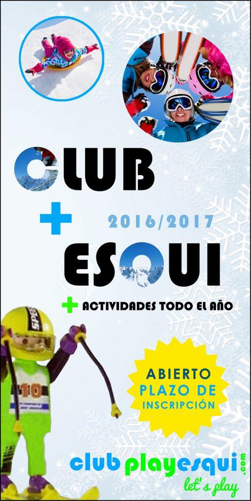 hazte socio del Club Play Esquí